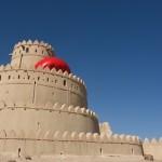 Al Jahili fort in Al AIn, Nov 22nd. RedBall : Abu Dhabi