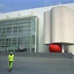 RedBall Barcelona : MACBA, Barcelona, contemporary art museum.