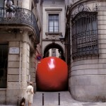 RedBall Barcelona, c/Jaume. one of the first international installations.